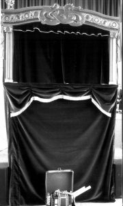 Figurentheaterportal Compagnia del Drago Rosso, Genua, Izalien, 1992