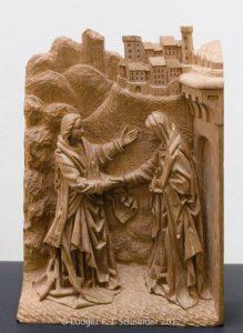 Relief einer Altar Predella