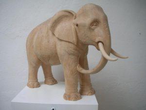 """Elefant """"Matthäi-Krippeath. Kirchengemeinde St. Willibrord Kleve,"""